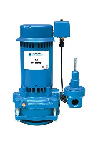 Goulds Sj10 1 Hp Vertical Deep Well Multi Stage Jet Pump